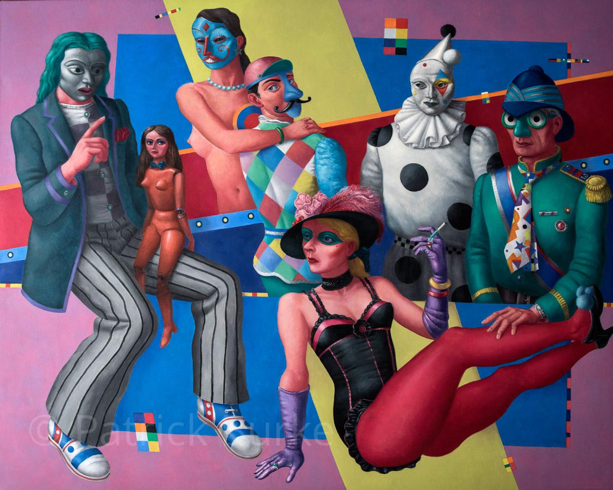 Masquerade, 1987/15, 150x180cm